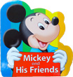 ミッキーの型抜き絵本